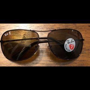 Ray-Ban Polarized Copper Sunglasses
